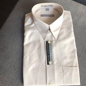 New Geoffrey Beene microfiber dress shirt M